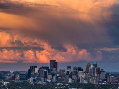 Calgary city views